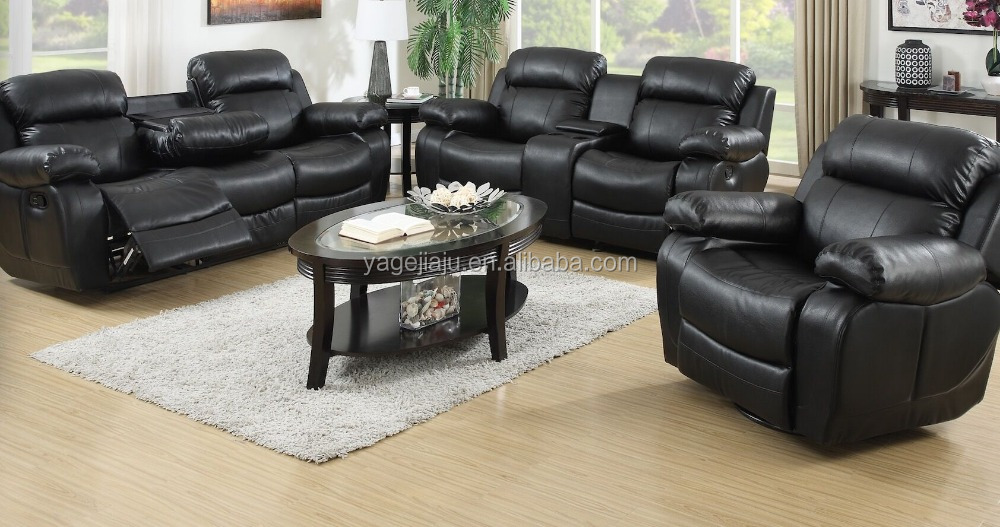 Lazy Boy Rocker Recliner Sofa Chocolate Brown Leather From China Living Room