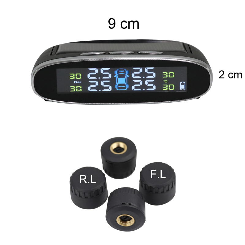 16 years Original Manufacture Car Digital Tire Pressure Gauge System