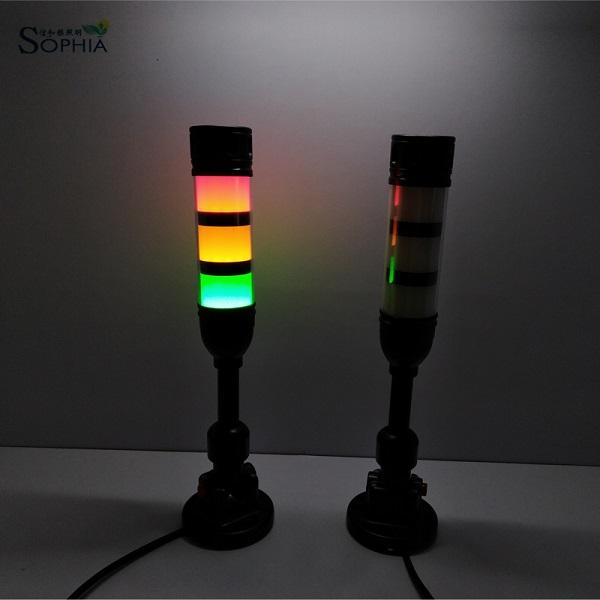 Sophia 50mm 12v 24v led indicator light buzzer