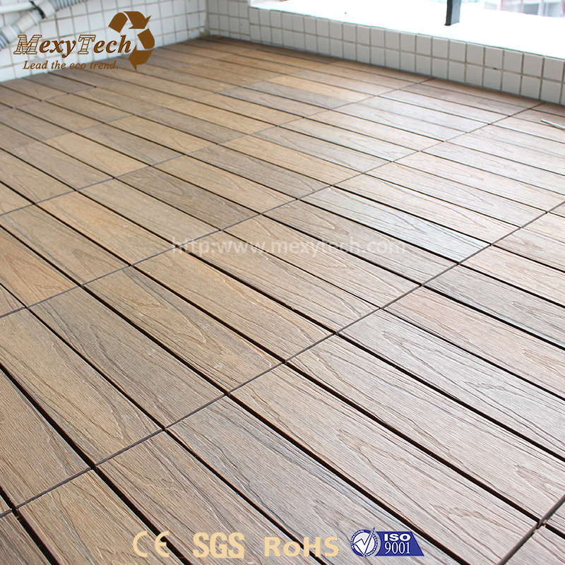 Hot sale cheap recyclable interlocking deck tiles outdoor flooring