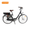 250W Bafang front hub motor roller brake electric city bicycle for lady