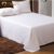 Good quality popular wedding white luxury satin embroidered bedding set