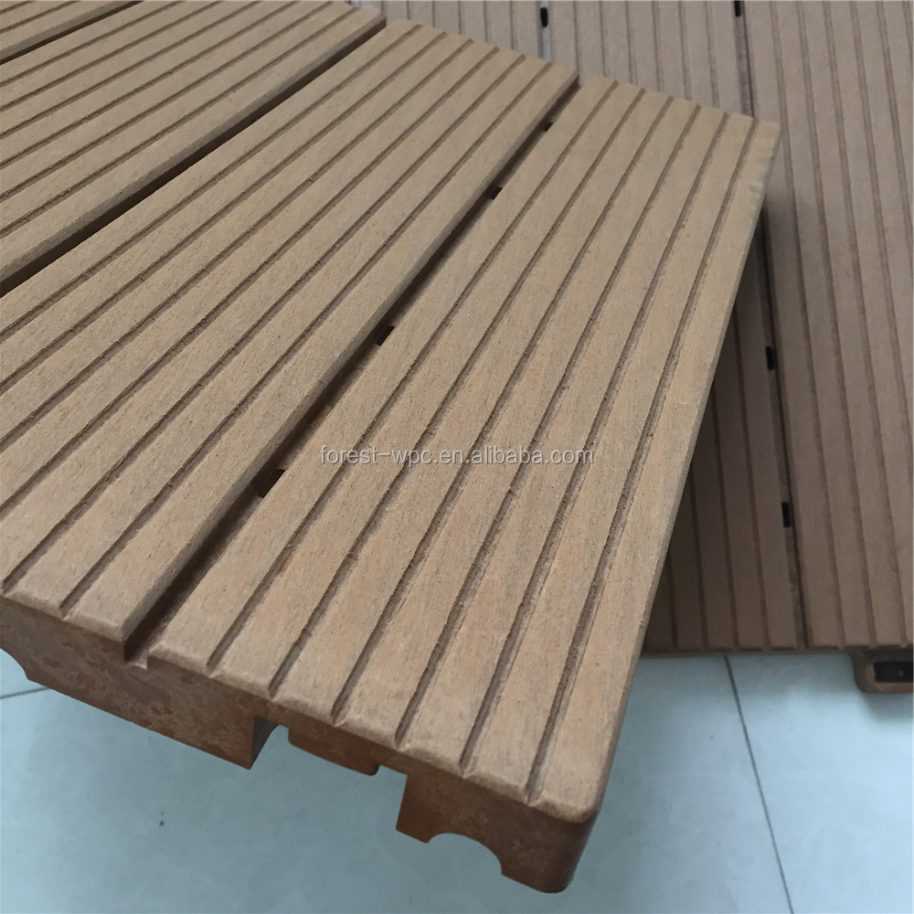 Interlocking Outdoor Tile Outdoor Moisture Barrier Paving