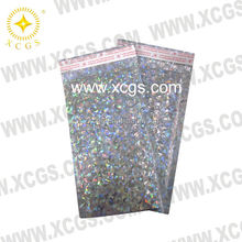 Customized printed aluminum foil bubble mailer metallic mailer bag