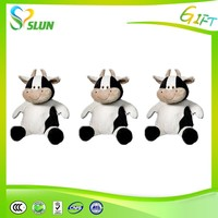 Funny kids plush cattle toys/stuffed cow toys/valentine plush animal toys