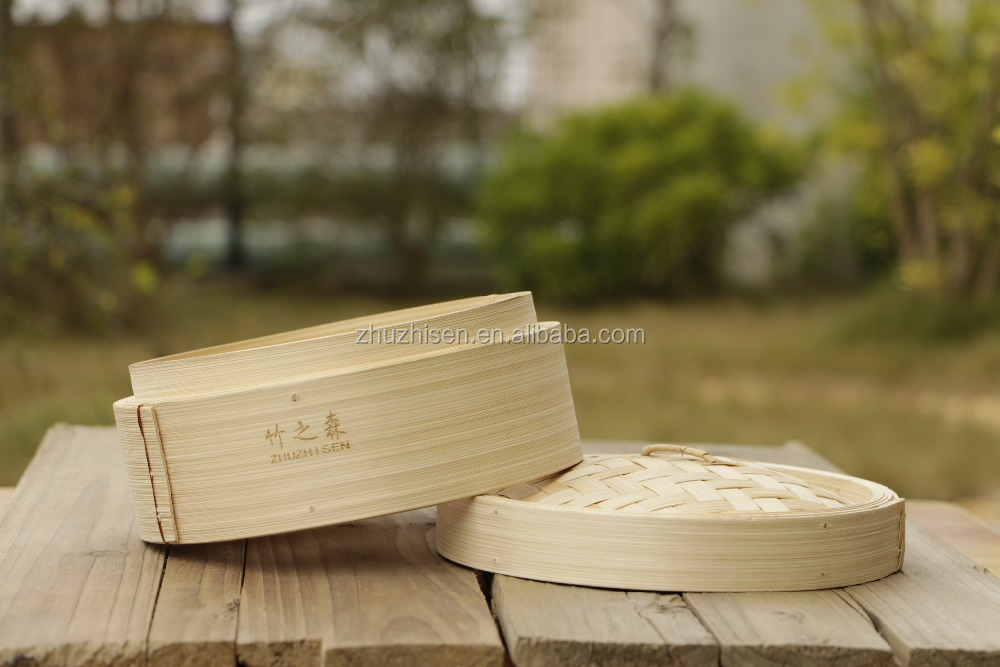Light Portable Bamboo Steamer