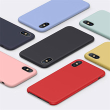 Have LOGO Original Offical Silicone Phone Case For iPhone 7 8 Case For iPhone11 pro X XS Max XR Cover For iPhone 6 6S Plus Cases