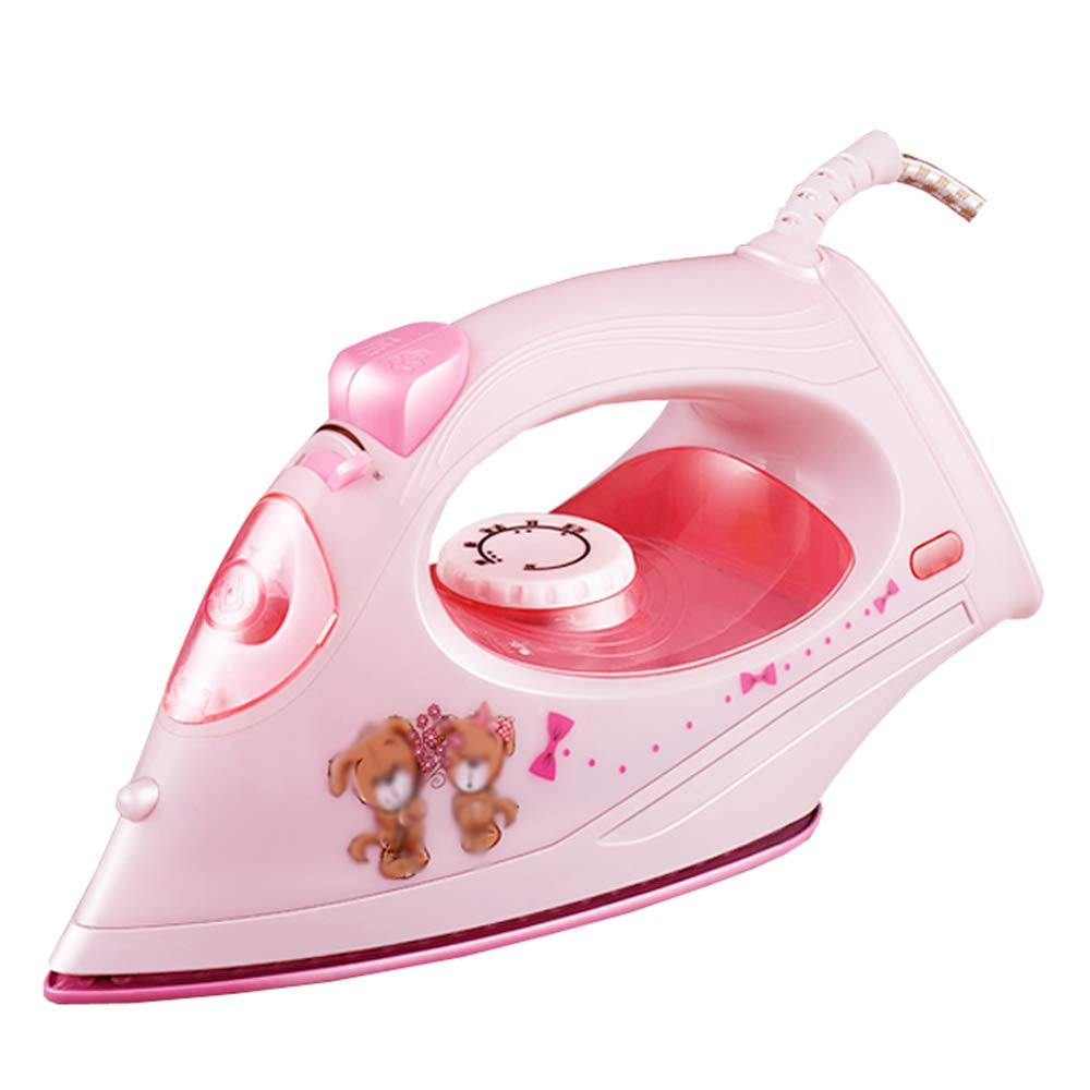 CDREAM Electric Iron Household Steam Hand-Held Small Iron Explosion Steam 1600W High Power,Pink-1