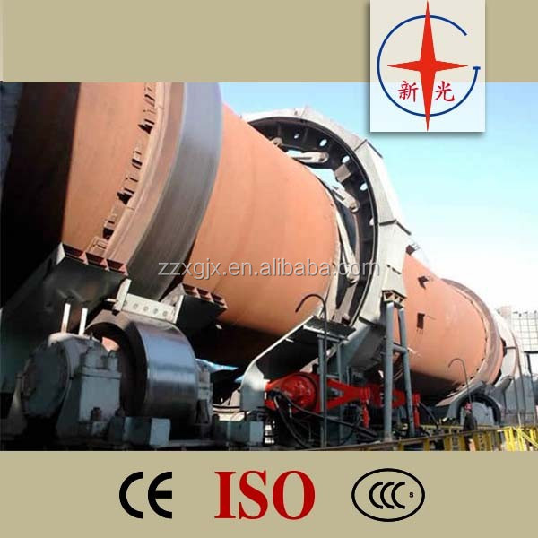 2014 China small best cement rotary kiln for calcined dolomite
