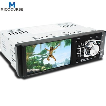 Universal 4 1 Inch Lcd Screen 1 Din Car Stereo Radio Video Player