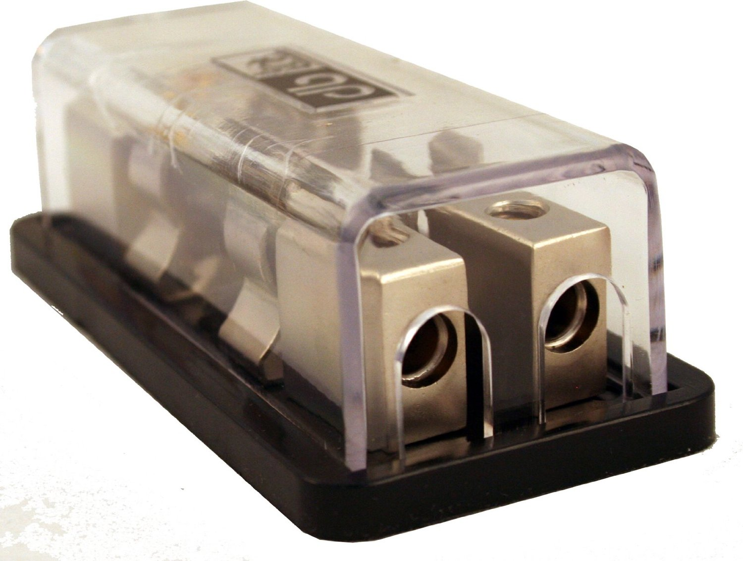 1 In 2 Out ANL Fused Eye Candy 0 4 Gauge Power Distribution Blocks Block 12V Car Truck Mobile Offroad