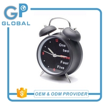 Brand design cheap price wall mounted alarm clock