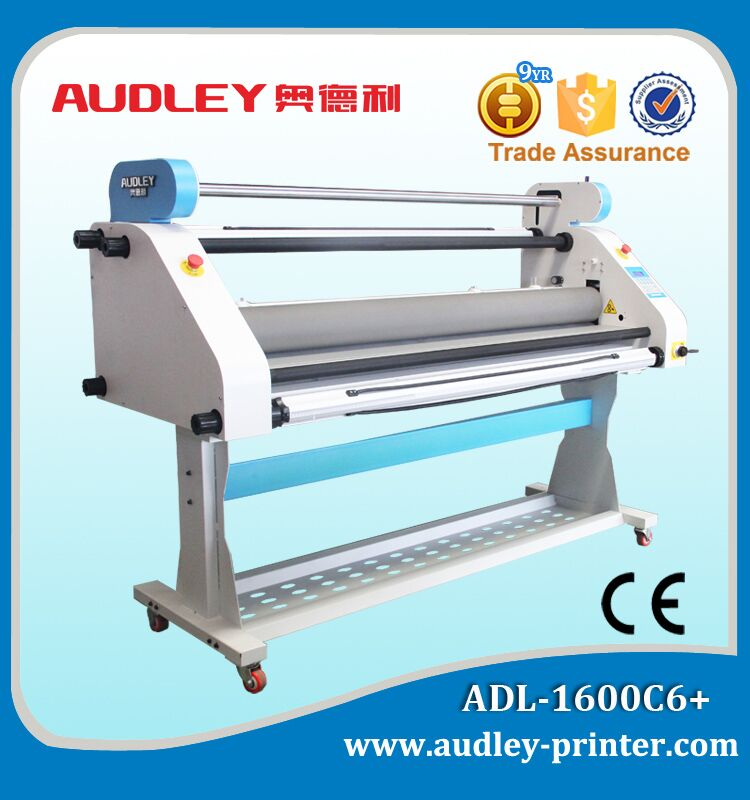 Best-selling Automatic Low-Temp Cold Laminator, 63 inches Roll to Roll laminate for Printing Graphics