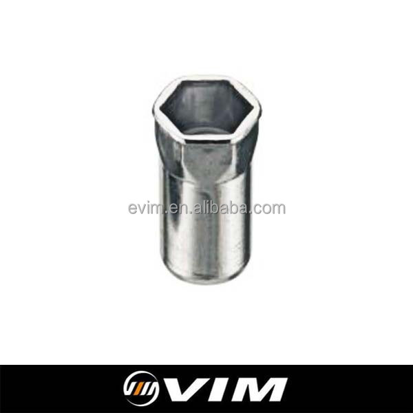 SSHRC Series, Stainless Steel 302,304,316, Blind Rivet Nut, Reduced Head, Semi-Hex Body, Closed End