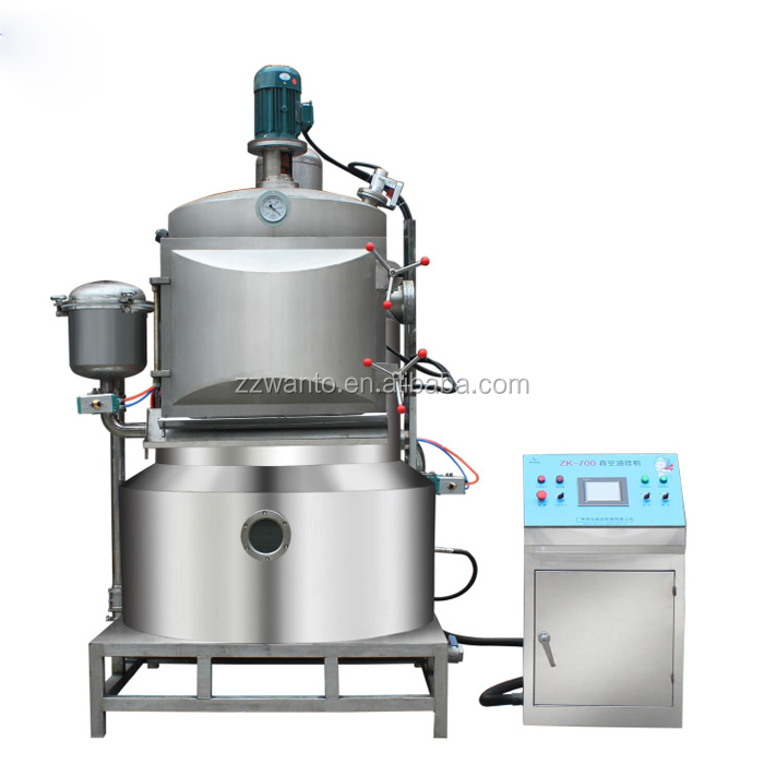 Home Hot Selling Cheap Vacuum Low Temperature Frying Dehydration Machine