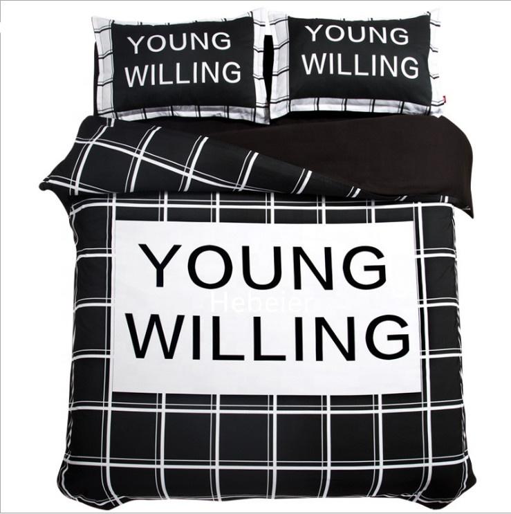 Teenager-Betten Schwarz-Weiß Schwarz-weiße Pornoröhren