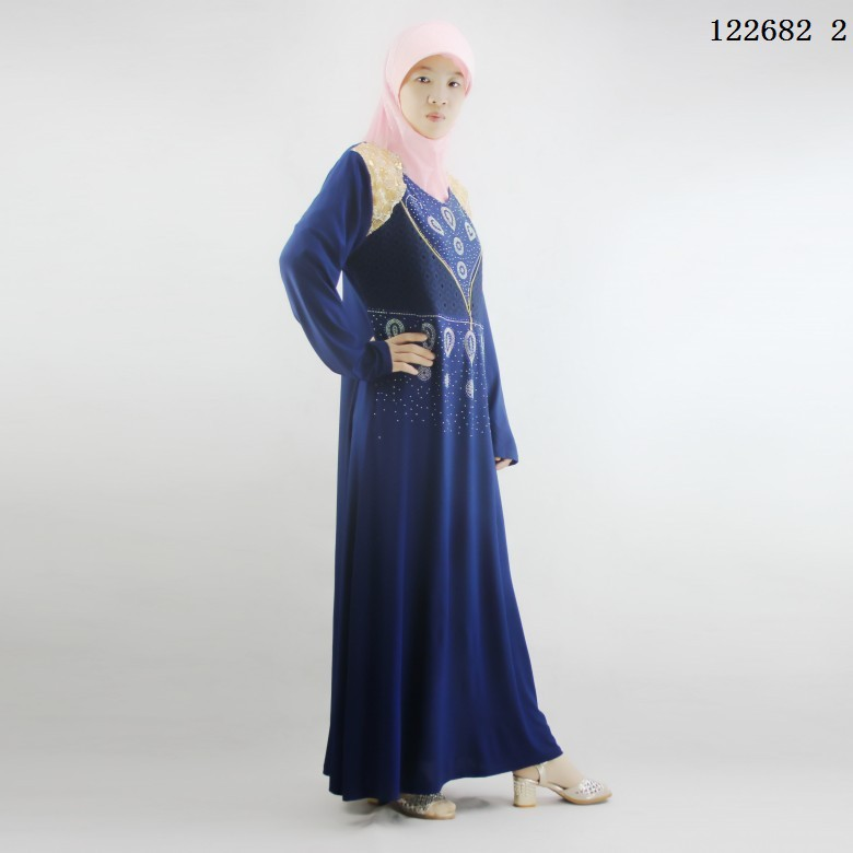2017 latest design muslim thobe for women with good price