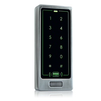 Wiegand Touch-Screen Waterproof security door lock access card systems RFID Card Keypad Reader Standalone Access Control system