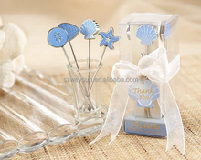 Seaside Hors d'oeuvre Picks Fruit fork(set of 4 picks) party Gifts