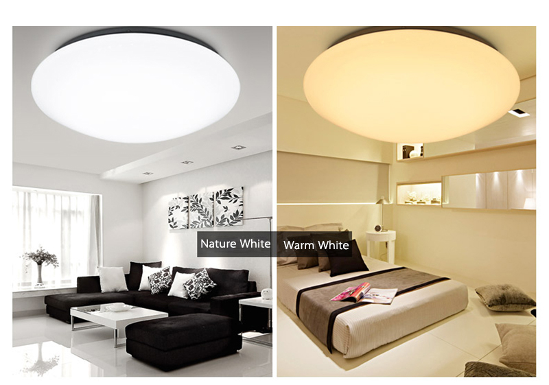 Smart with zigbee system fashion modern RGW decorative ceiling light covers