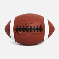 High Quality Custom Official Size 6 9 PU Foam American Football Rugby Ball For Professional Match