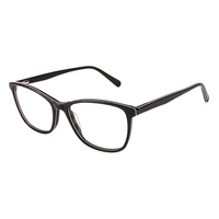 Popular Designed Big Size Glass Frame Acetate Spectacles For Men Women