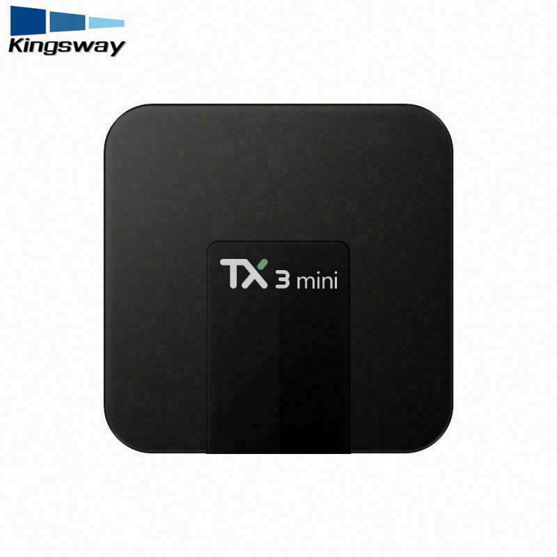 newest tv box android 7.1 amlogic s905w chipset tx3 mini android tv box 1tb hdd media player 2gb ram 16gb rom kd 17.3