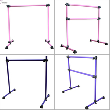 Double and single potable Freestanding Ballet dance Barre