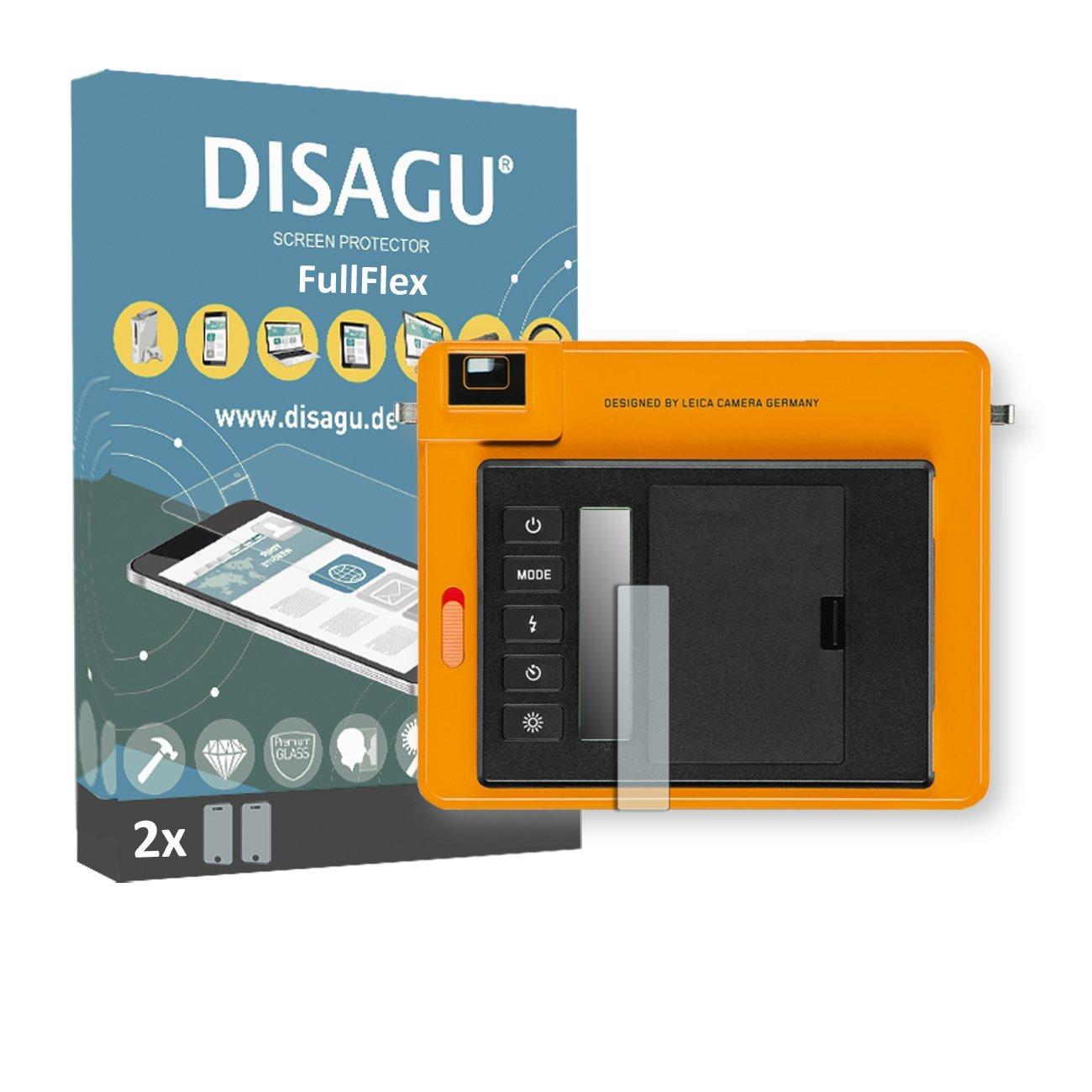 2 x Disagu FullFlex screen protector for Leica Sofort foil screen protector