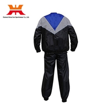 New Design Pattern PVC Sport Sublimation Lose Weight Track Suit