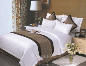 Luxury Hotel Bedding Set(SDF-S001) & Luxury Hotel Bedding Set(SDF-S001) View percale bedsheet SIDEFU ...