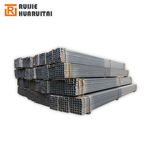 Forward Steel Thin Wall Black Annealed Square / rectangular Iron Tubes