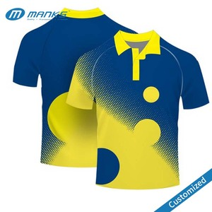 Custom Design Color Combination Different Color Collar Polo T Shirt