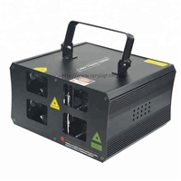 RGB full color laser light 1W 2W 3W 5W animated laser lamp