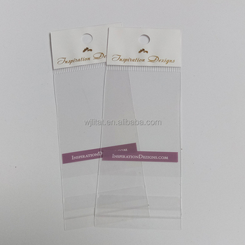 Polypropylene OPP/PP Self Adhesive Transparent Clear Jewerly Bag