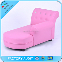 Upholstered Kid's Chaise Lounge
