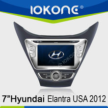 GPS navigation Car DVD player for Hyundai New Elantra 2012