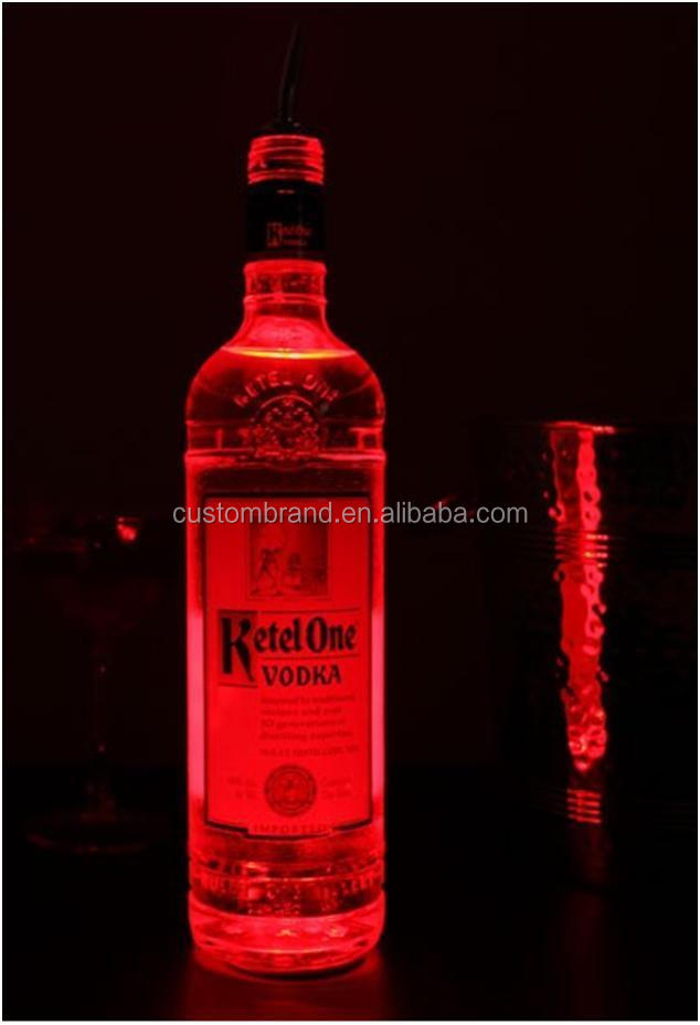 OEM Party Product LED Sticker for Wine Bottle Decoration