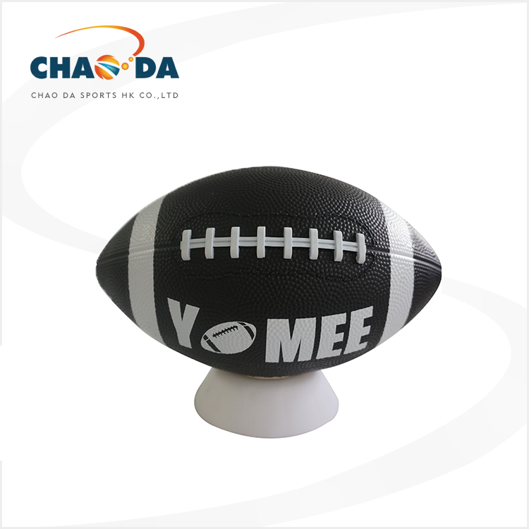 Size 9 American football ball children rubber rugby american football