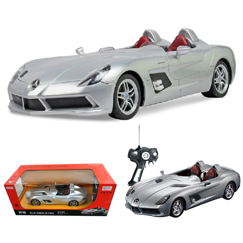1:14 Ratio Models Remote Control Car Toy Luxury Cars Model Children's Series Silver Black Remote Control Toy Car 1 piece