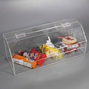Acrylic Bulk Candy Dispenser Bulk Food Dispenser Plexiglass Retail Store Supermarket Acrylic Candy Bin and Dry Food Container