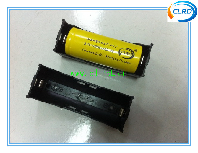 26650 Battery Holder With 1 Slot Abs Battery Holder Container ...