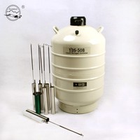 Transportable lab biological liquid nitrogen dewar