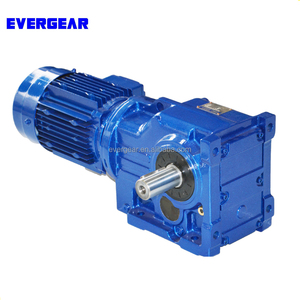 K series helical bevel gear reducer gearbox geared motor