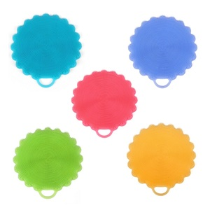 Promotion Hot Selling Antibacterial Silicone Dish Scrubber, Silicone Dish Sponge