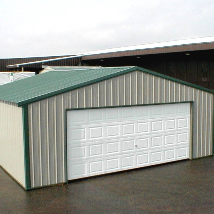 Low price prefabricated car garage