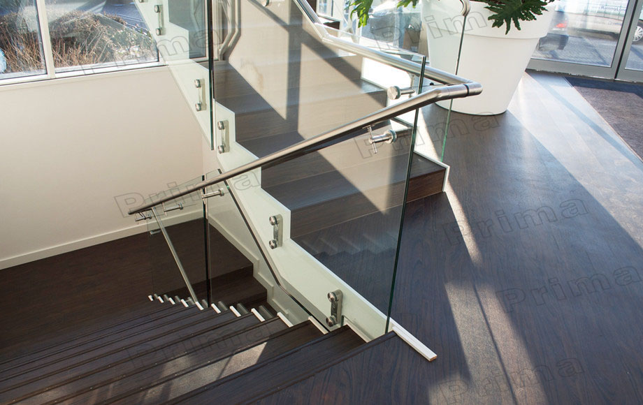 Interior luxury stair stainless steel railing post price glass railings buy glass railings for Stainless steel railings interior