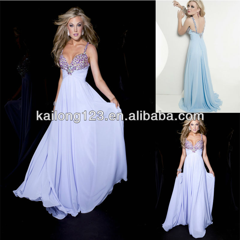 Aliexpress Com Buy Strapless Ruched Bodice Empire Waist: Cheap Empire Ruched Waist Flowing A Line Beaded Bodice