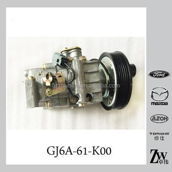 Small Car Air Conditioner Compressor A C Compressor Gj6a 61 K00 For