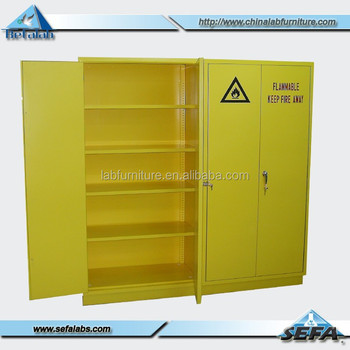 Flammable Safety Cabinet School Safety Cabinet Chemistry Storage Cabinet